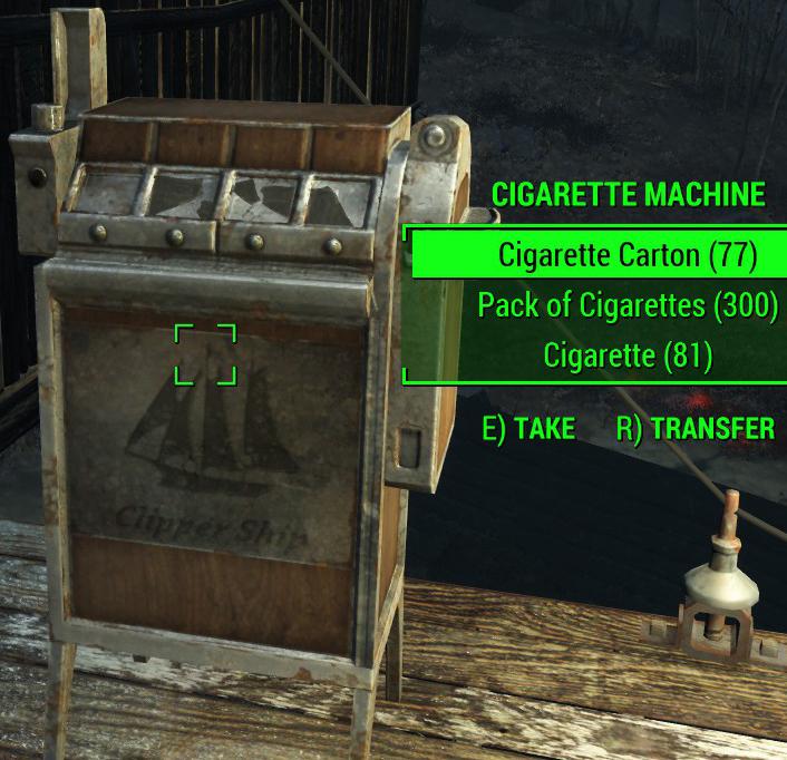 fallout 4 cigarette